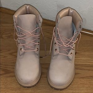 Pink Timberland Women's Shoes